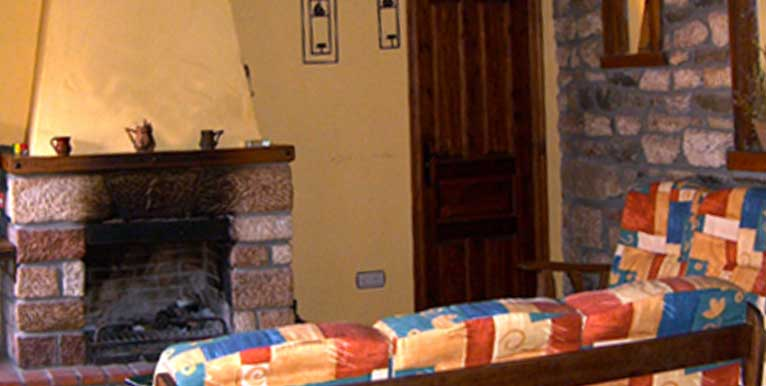 salon en casa rural aldaron